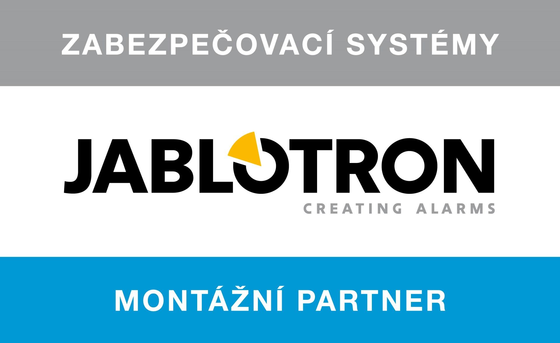Montážní partner Jablotron
