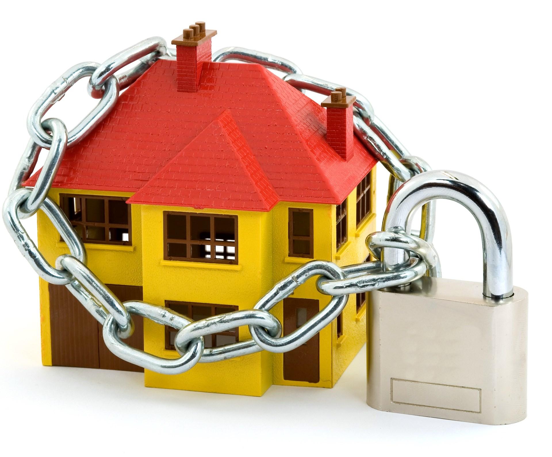 zabezpečený dům