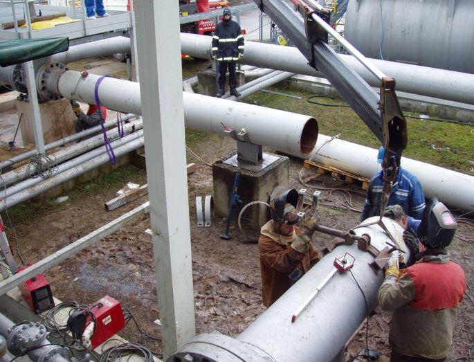 Montáž potrubí