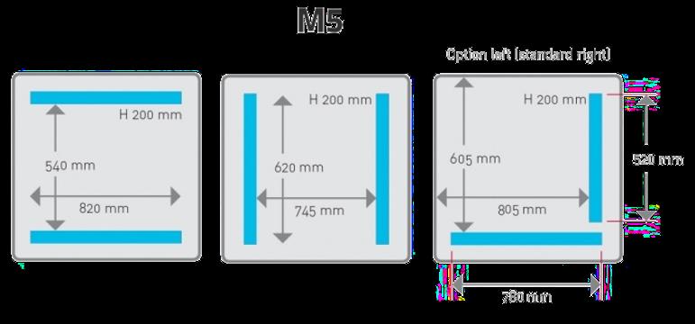 Komora hencovace M5