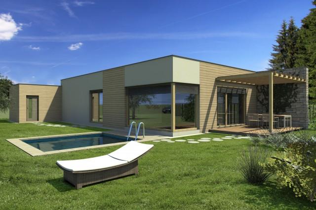 Přízemní dům B4
