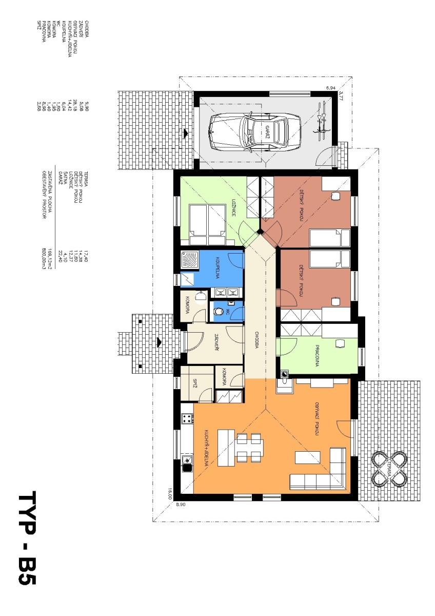 Rodinný dům B5