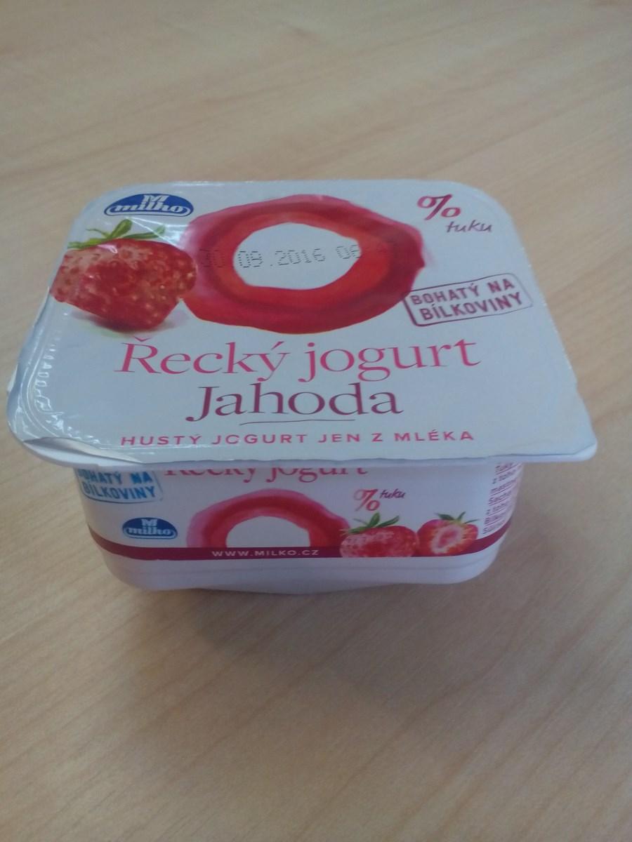 Řecký jogurt jahoda