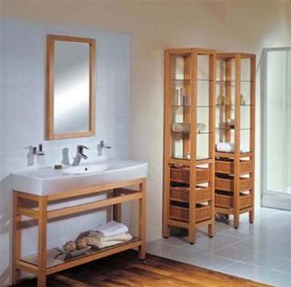 Kombinace podlahy v koupelně