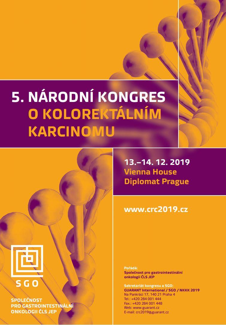 5. národní kongres o kolorektálním karcinomu