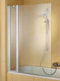 Jednodílná zástěna, sprchový kout na vanu