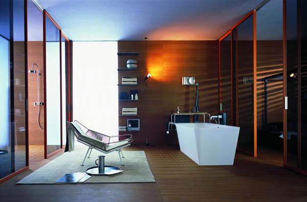 Velká luxusní koupelna