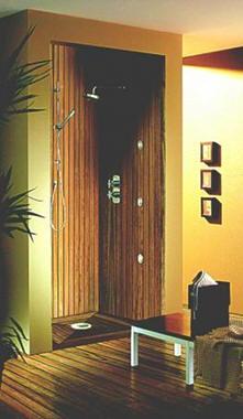 Koupelna a dřevo