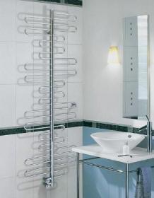 Vytápění koupelny, koupelnový žebřík