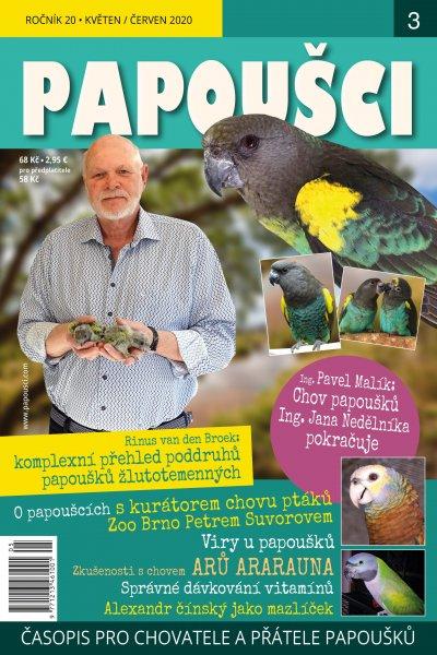 Papoušci 2020 3