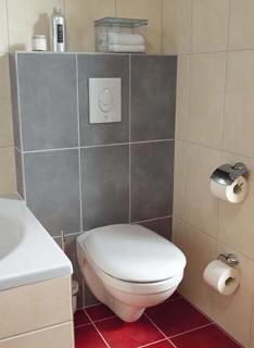 Předstěna WC