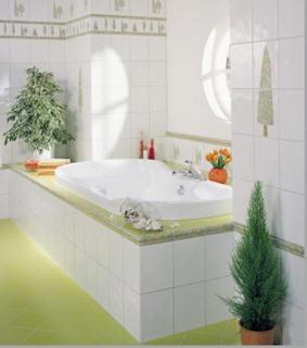 Světlé barvy v koupelně