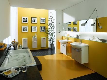 Prostornější koupelna