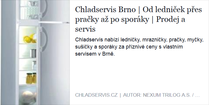 Chladservis