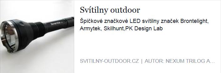 Svítilny Outdoor