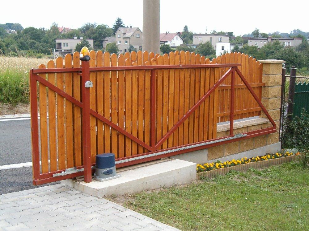 Pojezdová brána Ostrava