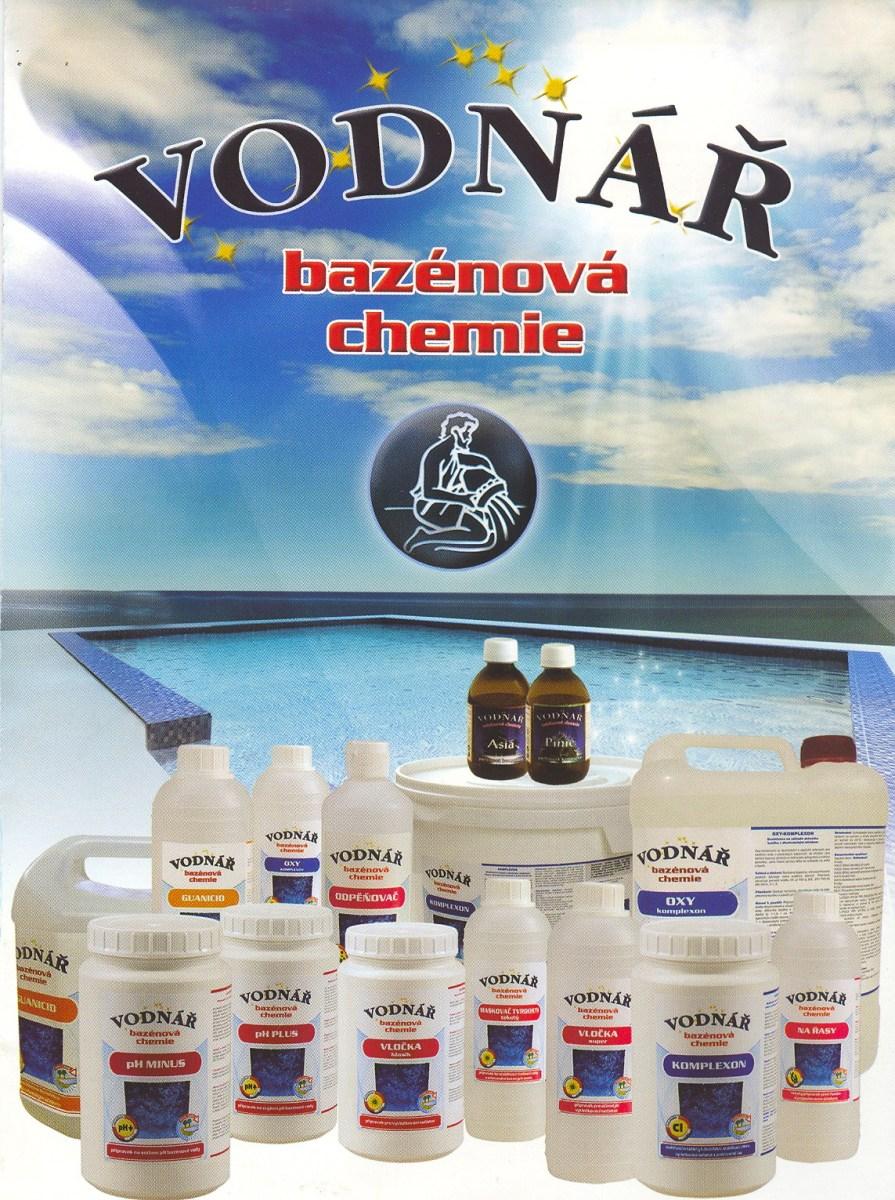 Bazénová chemie Vodnář