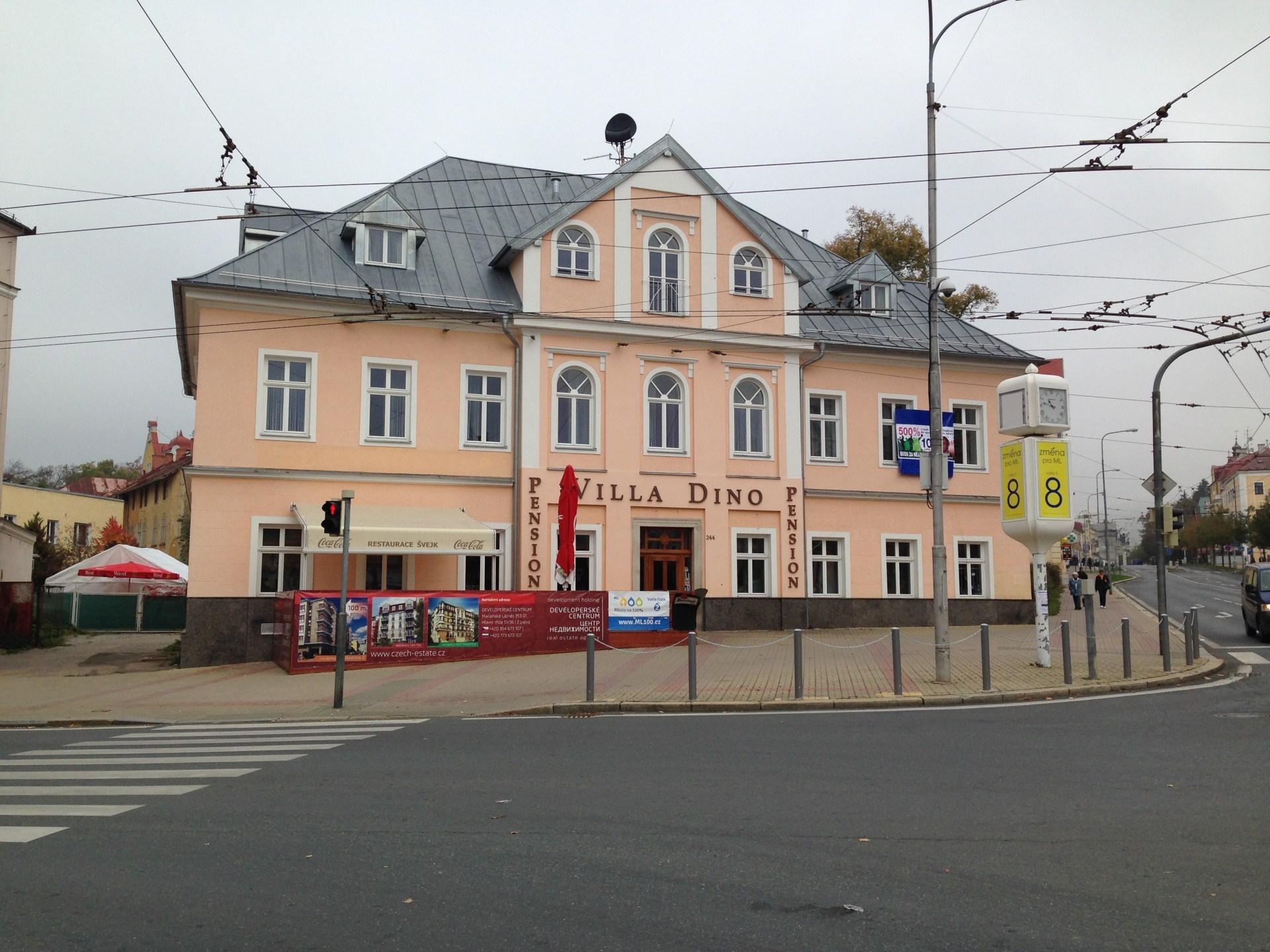 Hotel Villa Dino *** v Mariánských Lázních