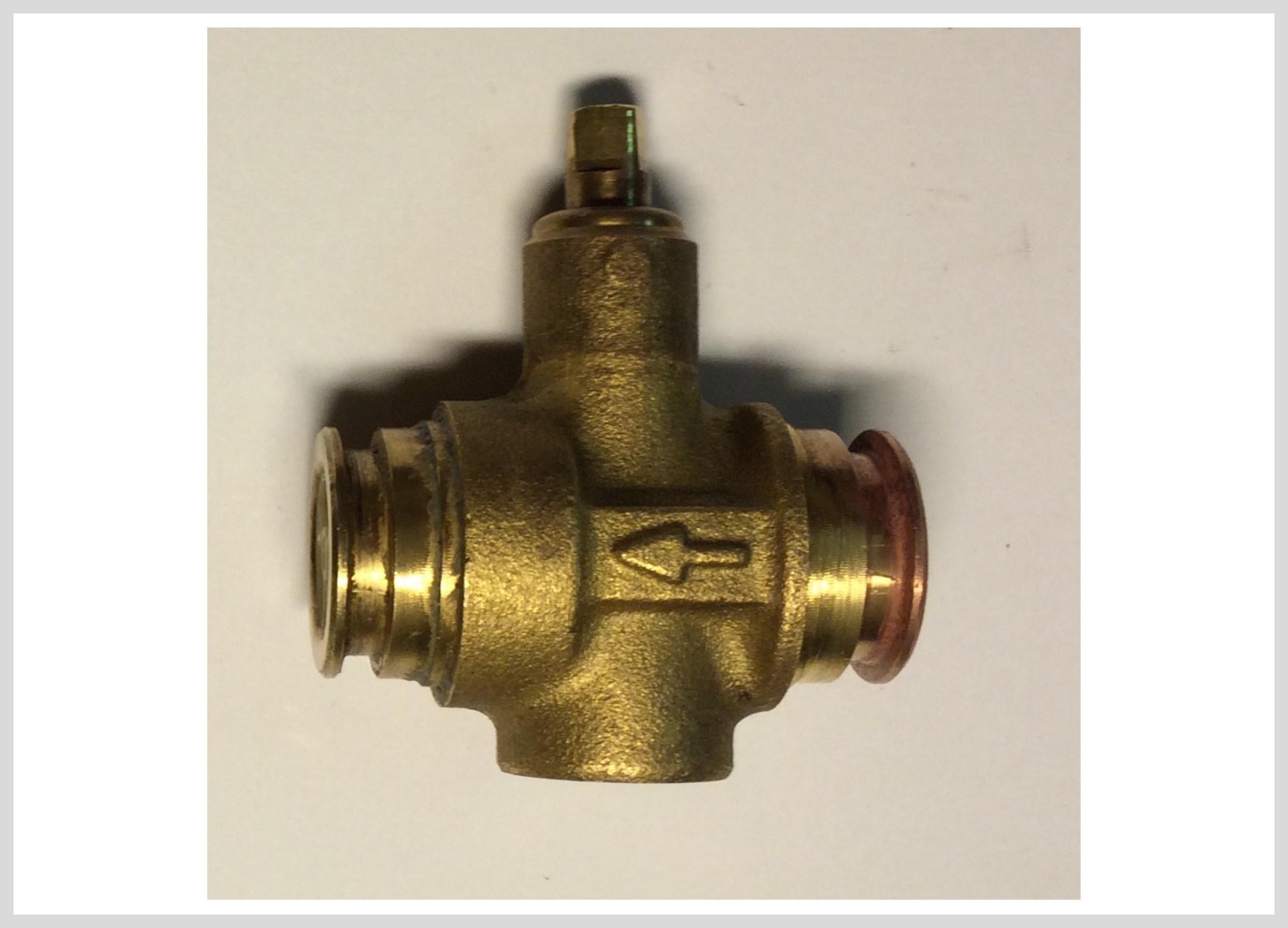 Ventil napouštění vody manuál/automat