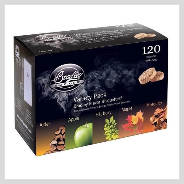 Brikety Premium Five Flavour Varieties
