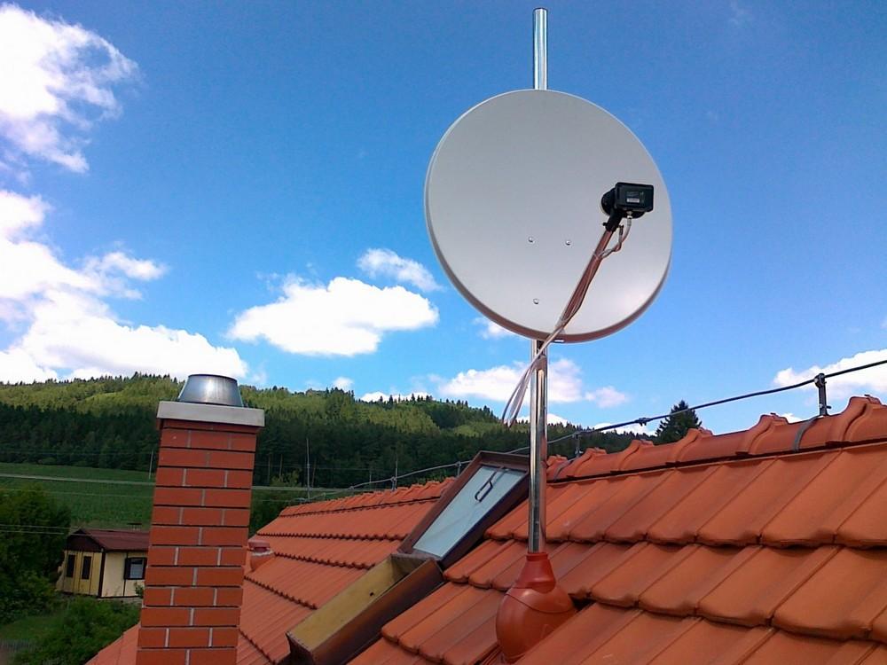Satelitní vysílání (DVB-S)