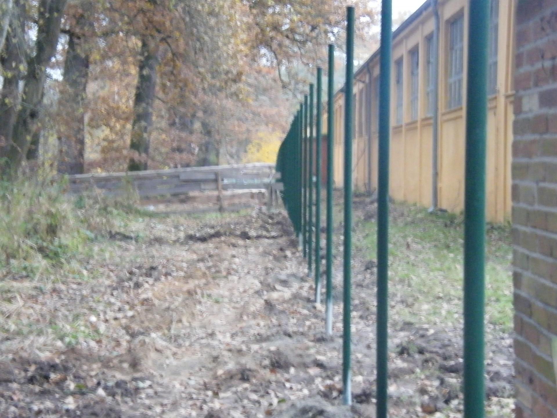 Průmyslové oplocení areálu HZS Hluboká nad Vltavou
