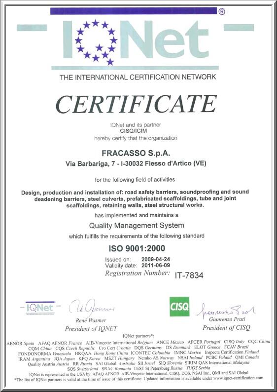 Certifikáty - lešení