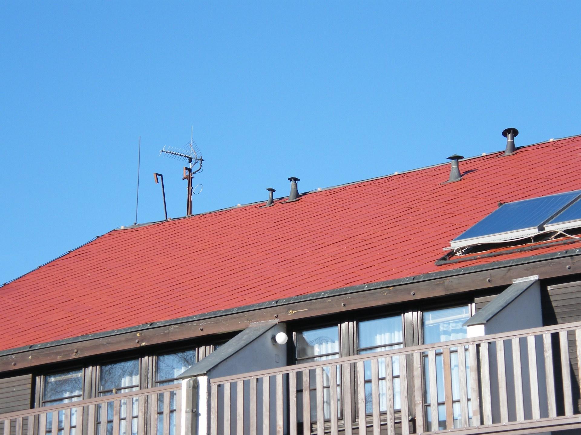 Renovace střechy v Podhradí nad Dyjí PČR