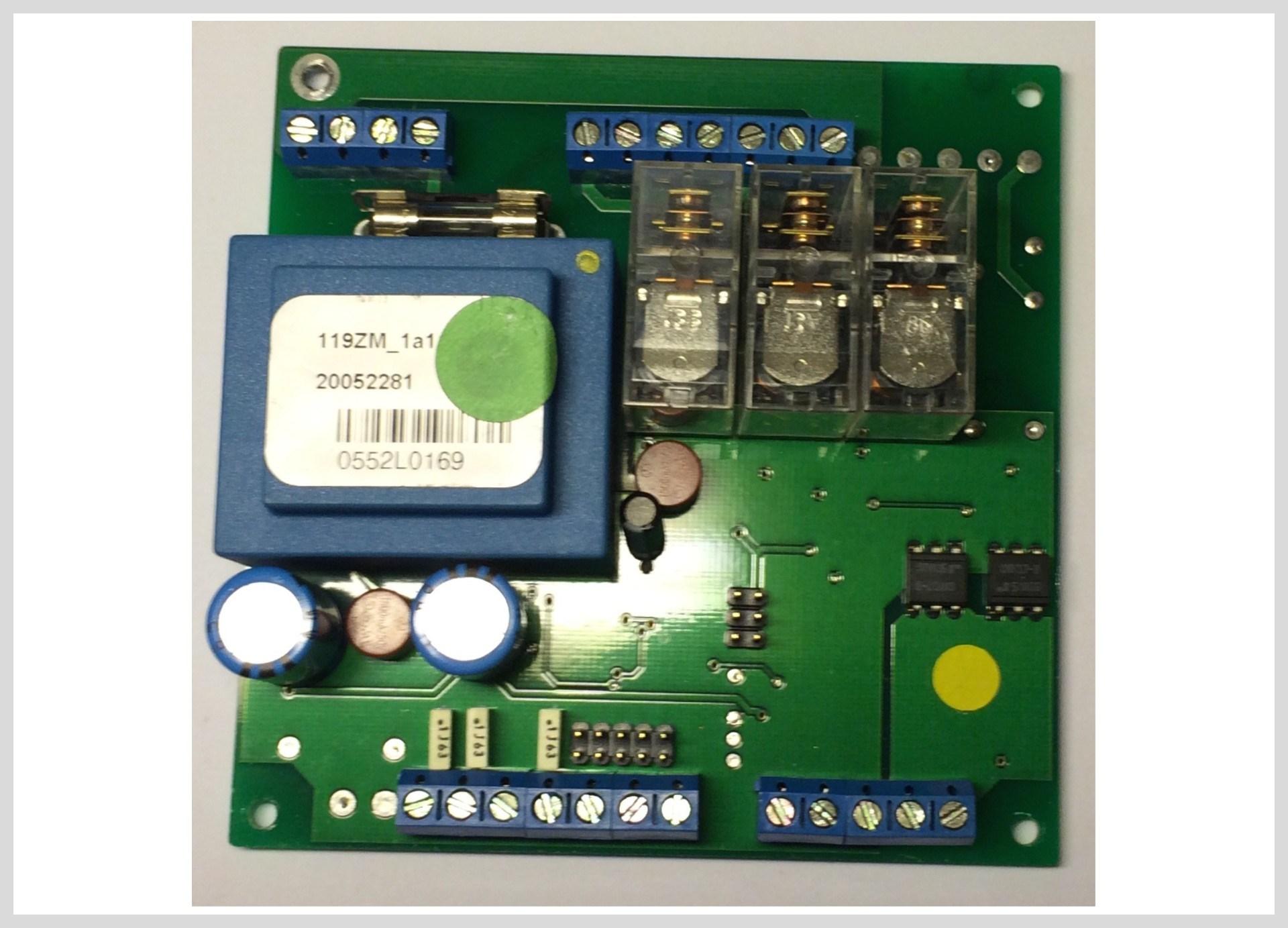 Elektronika BT zóny montáž pod kotel