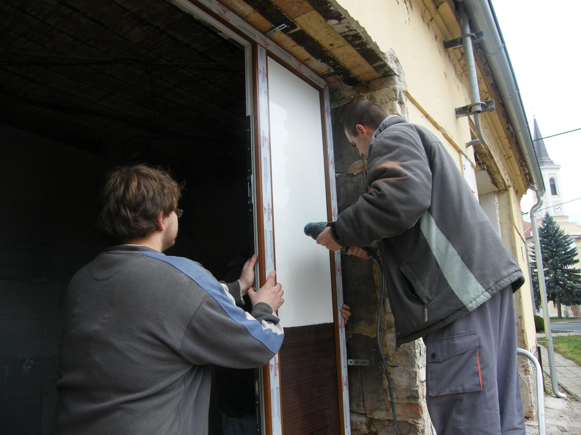 Výměny oken a dveří na RD