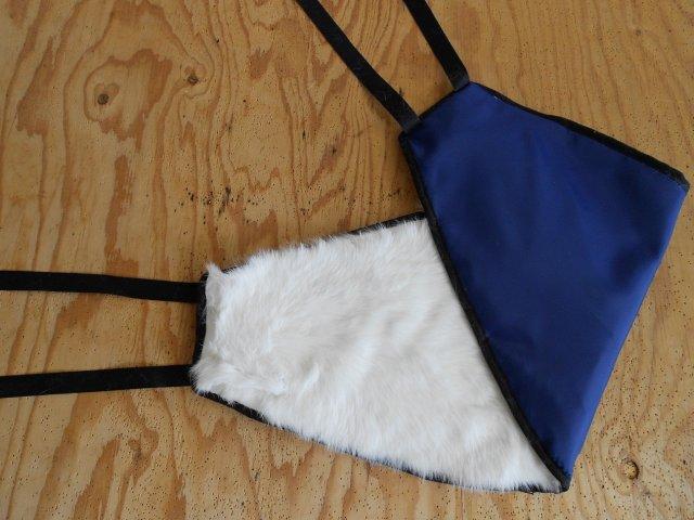 Ledvinový pás - bonekan umělá kožešina uni fa73cd936a
