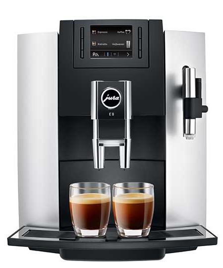 Jura - automatické kávovary - E8