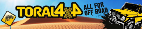TORAL 4x4 banner