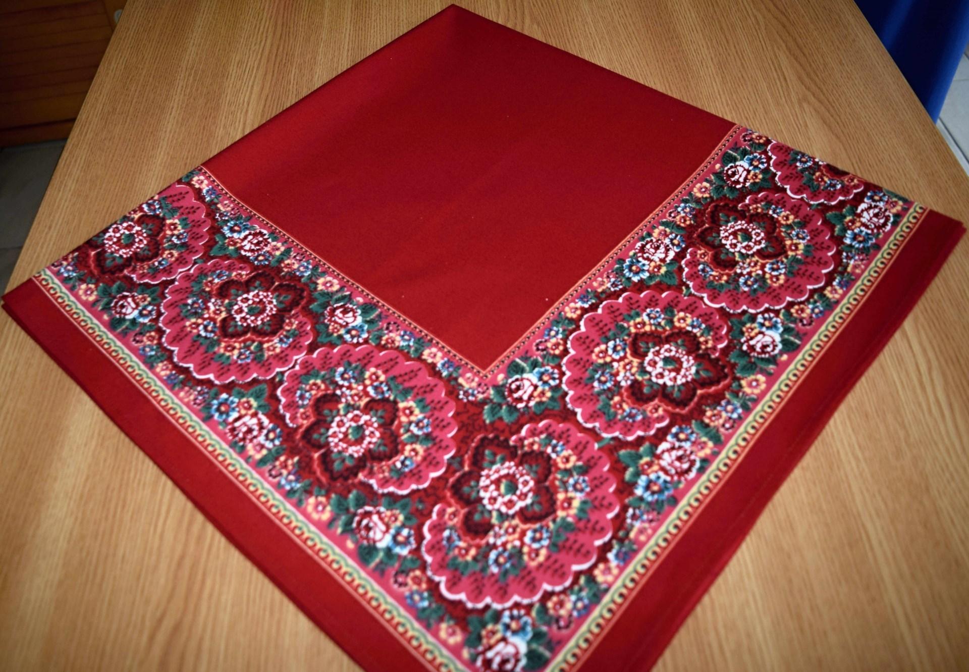 bbcb6f060b2 Turecký šátek - vzor III. velikost 90x90 cm - prázdný střed