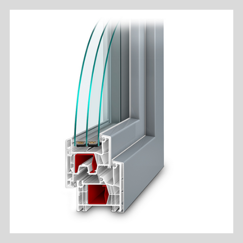 PVC okna a dveře