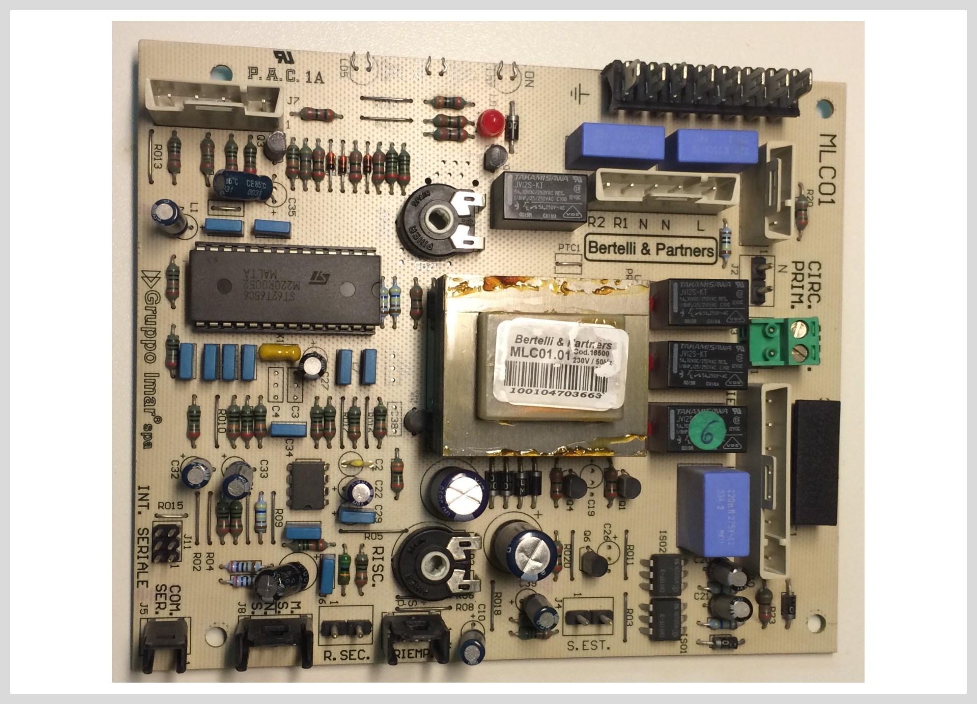 Elektronika CSP s procesorem pro kotle N. NB,MB