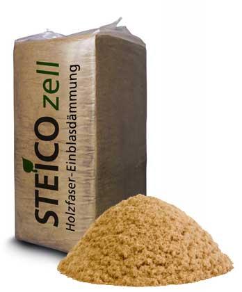 Foukaná izolace Steico Zell