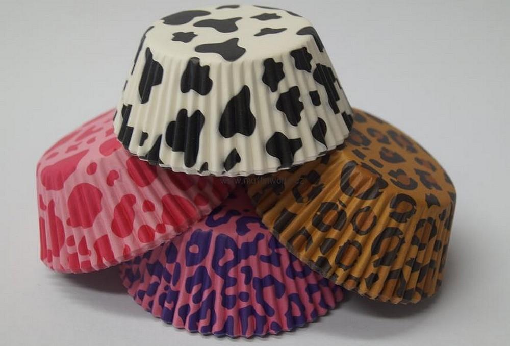 Papírové košíčky na muffiny - 100 ks
