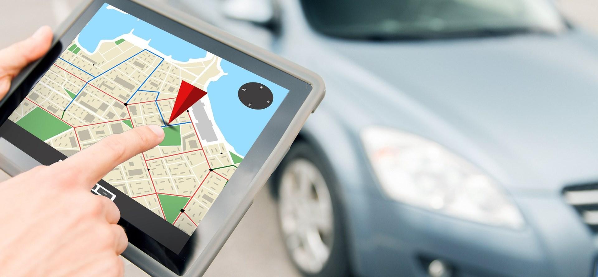 GPS kniha jízd