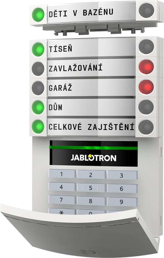 Martin Hassa - alarmy Jablotron