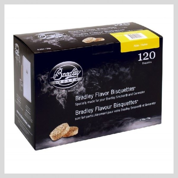 Bradley Smoker - Brikety Olše