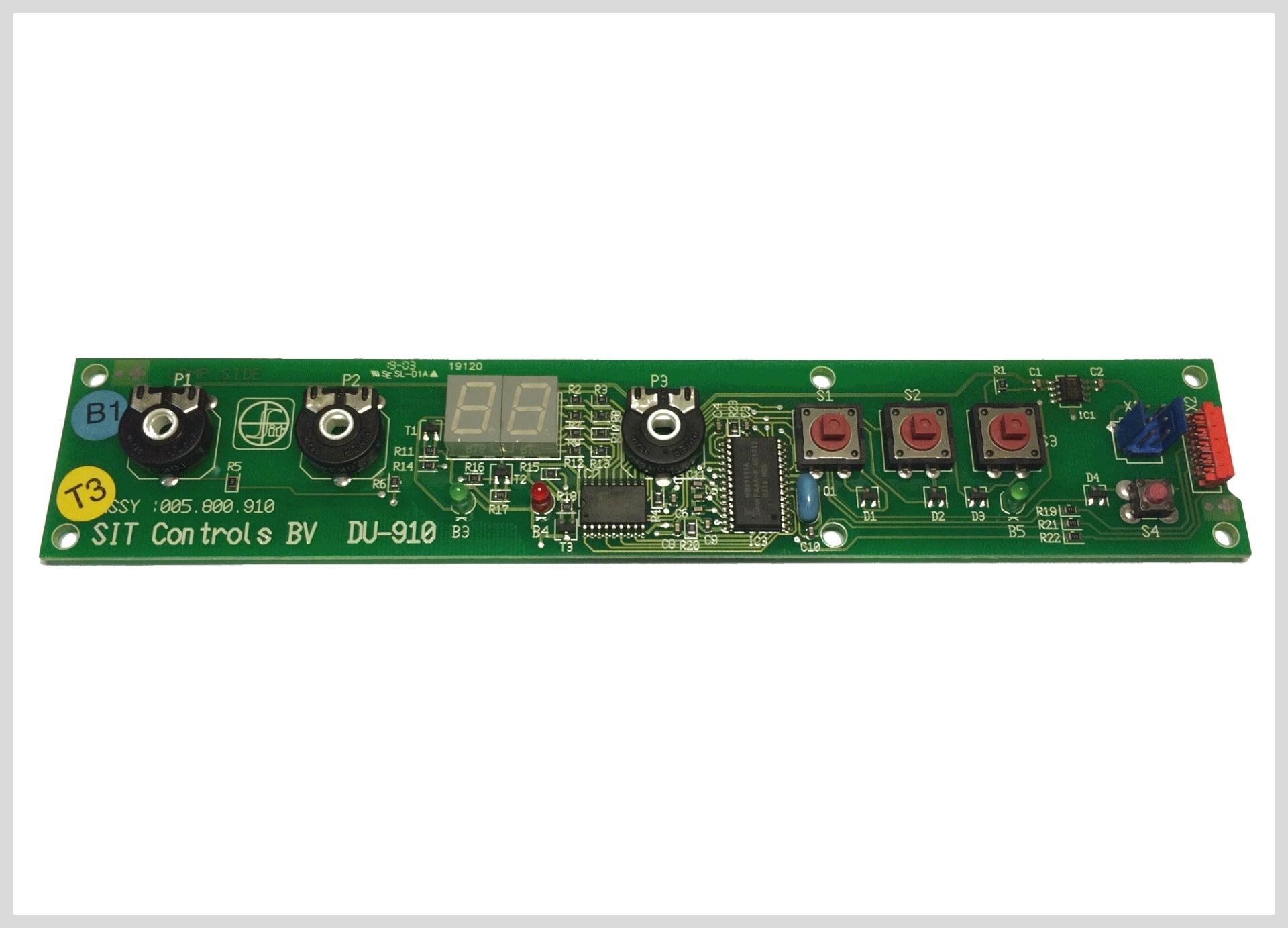 Elektronika ovladacího panelu Bimetal