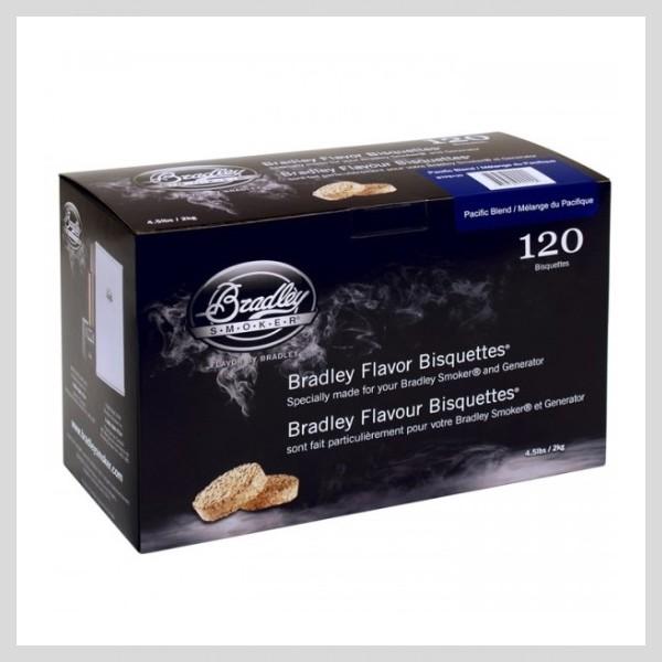 Bradley Smoker - Brikety Pacific Blend
