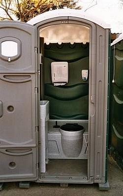 Čištění mobilních WC