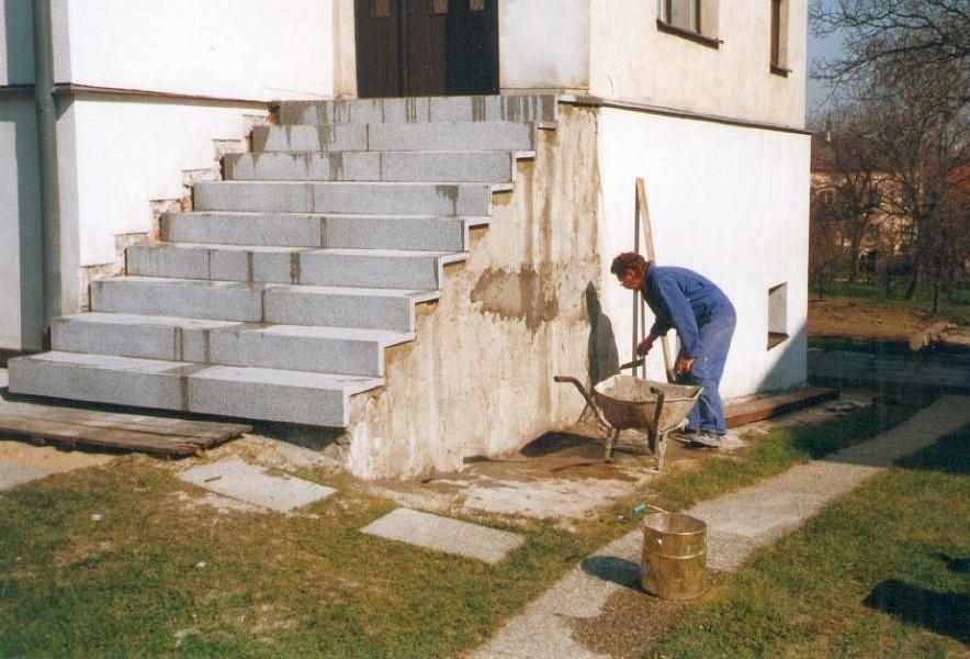 Repase teracových schodů, Tekel, s.r.o.