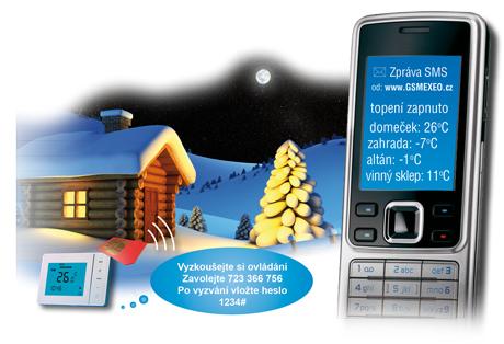 GSM automatizace