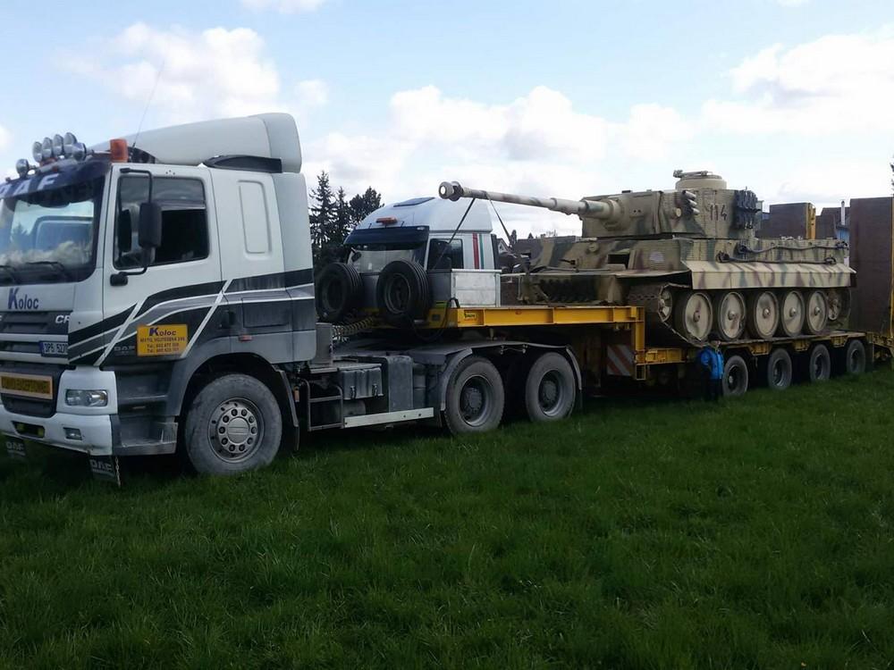 Stěhování tanků