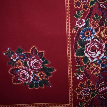 d0a546247dd Turecký šátek - vzor II. velikost 150x150 cm - prázdný střed