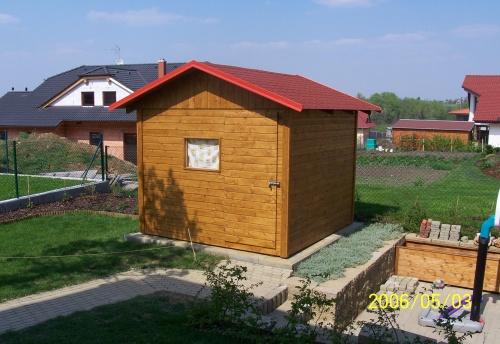 dřevěný zahradní domek na zakázku