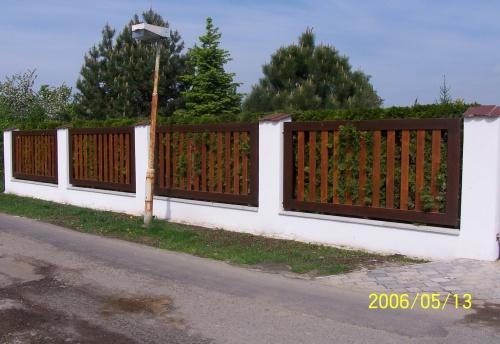 dřevěné ploty a oplocení na zakázku